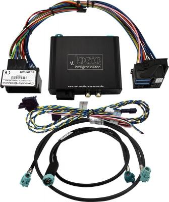 Interfejs do kamery cofania przód/tył BMW CIC2 F 4-Pin LVDS