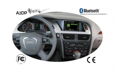 FISCON Zestaw głośnomówiący Bluetooth Audi A4 8K, A5, Q5