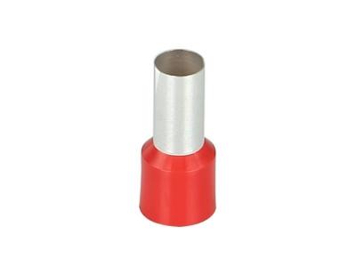 Końcówka tulejkowa izolowana 35,0 mm²  czerwona