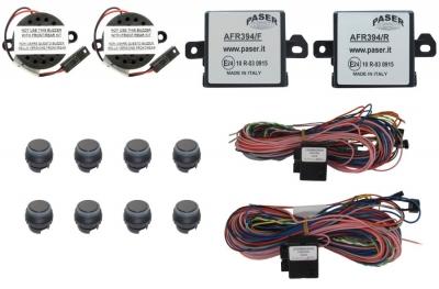 Czujniki parkowania graficzne tył+przód 17 mm Audi A3 2014->,Ford Focus 2011->,VW 2010-> inne