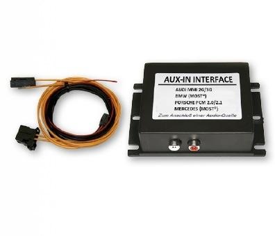 AUX-IN systemy światłowodowe AUDI BMW MERCEDES