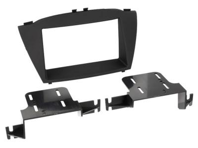 Ramka radiowa 2 DIN Hyundai ix35 2013->  czarna