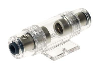 Oprawa bezpiecznika AGU na przewód 10 - 20 mm ² srebna