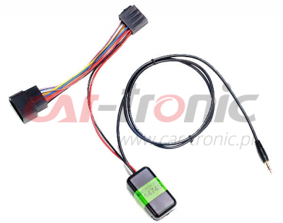 Adapter Bluetooth 12V ISO JACK 3.5mm - AUX IN