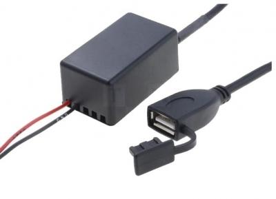 Zasilacz samochodowy USB A gniazdo 12V/5V/1x2,1A