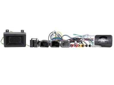 Adapter do sterowania z kierownicy Chevrolet Captiva, Equinox, Suburban, Tahoe, 2007 -> Fabryczny wzmacniacz. CTSCV006