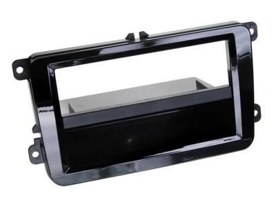 Ramka radiowa 2 DIN VW Seat Skoda piano-black