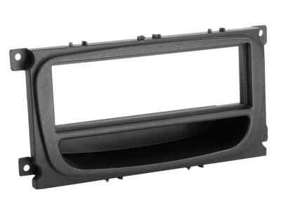 Ramka radiowa Ford Focus,Mondeo,S-Max 2007-> czarna półka