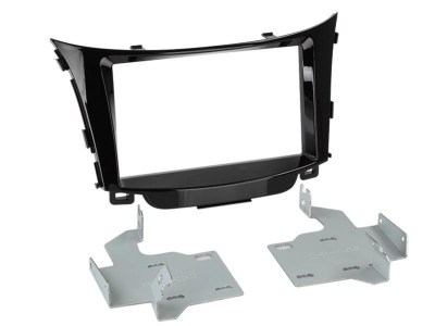 Ramka radiowa 2 DIN Hyundai I30 2012-> czarny połysk