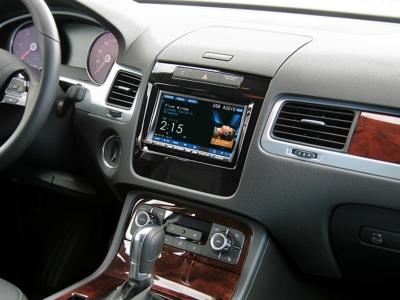 Ramka radiowa 2 DIN VW Touareg II (7P/7PH) 04/2010 - 2014