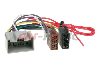 Adapter Volvo 14-pin 2004->,Ford Fiesta 2008-> ISO