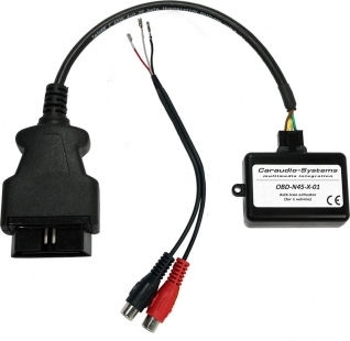 Adapter do odblokowania AUX Mercedes NTG 4.5