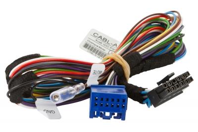Przewód Dension Gateway Lite AUDI z Quadlock, Typ A