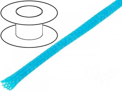 Oplot poliestrowy 4mm (3-7mm) niebieski