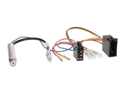 Adapter ISO z separatorem antenowym Audi VW Seat Skoda 2004->