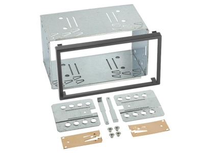 Półkieszeń uniwersalna 2DIN wymiar 110x188,5mm/98x173,5mm