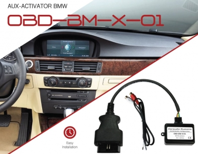 Aktywator AUX OBD BMW CCX, M-ASK, CHAMP