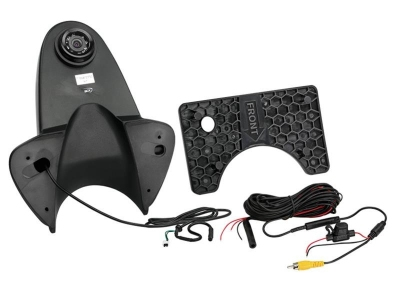 Uniwersalna kamera cofania z linami pomocniczymi dla samochodów dostawczych