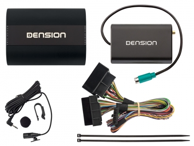 Dension Pro BT,AUX,USB,iPhone,ID3,DAB+ - VW RCD300/500