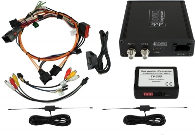 Tuner DVB-T MPEG-4 USB HDMI Land Rover navigation systems version 2
