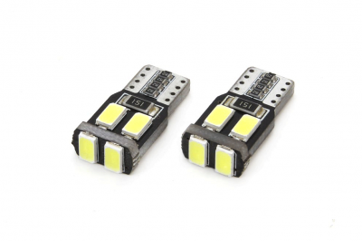 LED CANBUS 6SMD-2 5730 T10 (W5W) White