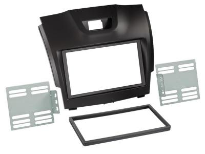 Ramka 2 DIN Isuzu D-MAX 2012-> czarna