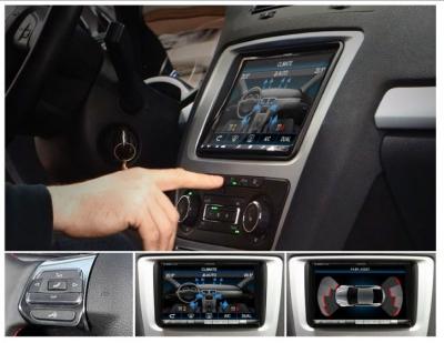 Interfejs wyświetlanie informacji o samochodzie VW na nawigacji OEM