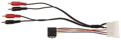 Adapter Hyundai, Kia ISO + RCA na fabryczny wzmacniacz