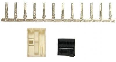 Obudowa złącza - wtyk Quadlock czarny 12 pinów