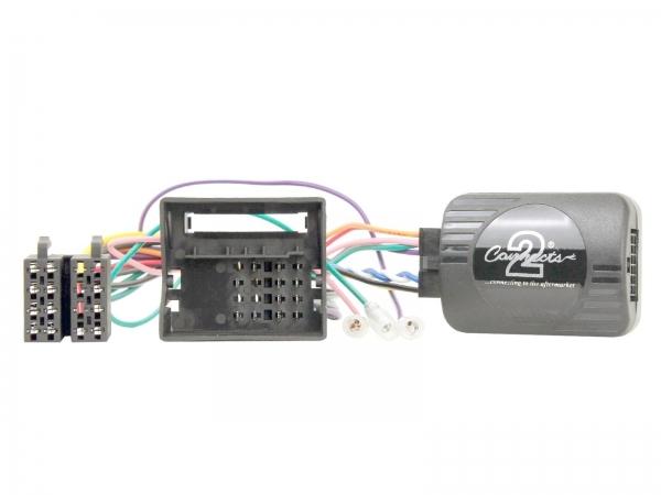 Adapter do sterowania z kierownicy Renault Clio, Megane, Scenic, Wind, Fluence, Twingo, Opel Vivaro 2009-> CTSRN006.2