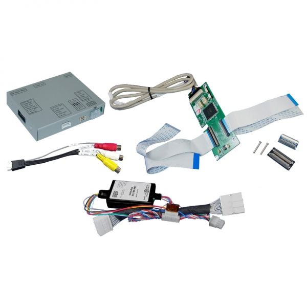 Adapter do kamery cofania Dacia, Fiat, Opel, Renault, Smart 2012 -> Nawigacja MediaNav, Rlink