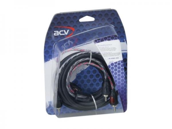 ACV SYMPHONY Cinch-Kabel 300 cm