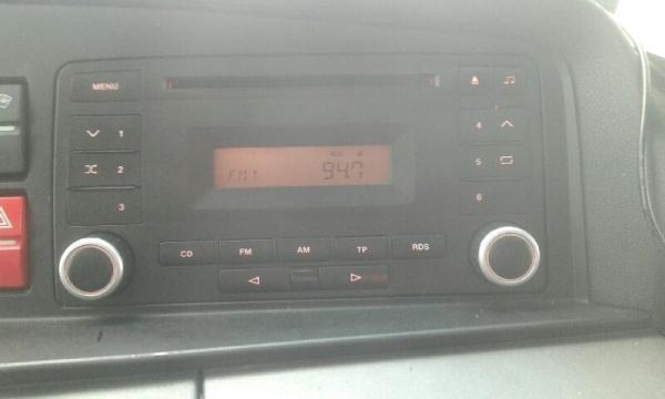 Ramka radiowa 2 DIN MAN TGX 2007->