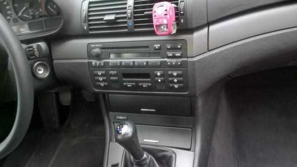 Ramka radiowa 2 Din BMW 3 (E46) 1998 ->