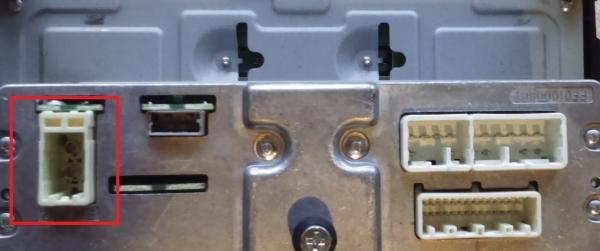 Adapter antenowy Toyota 2009->, Subaru 2012-> DIN