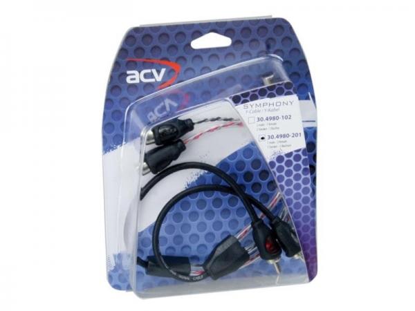 ACV SYMPHONY rozdzielacz chinch 2x wtyk - 4x gniazdo