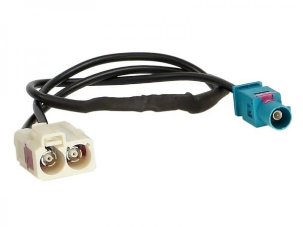 Adapter antenowy Fakra Z (m)> podwójna -FAKRA (w)