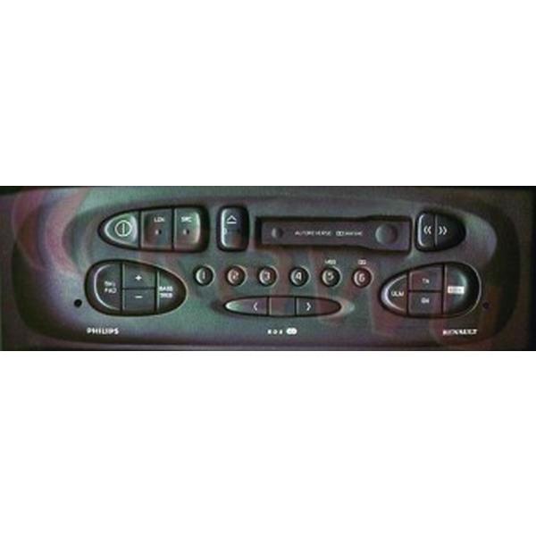 Adapter do sterowania z kierownicy Renault Clio, Laguna, Megane, Scenic, 1997-2000 CTSRN002