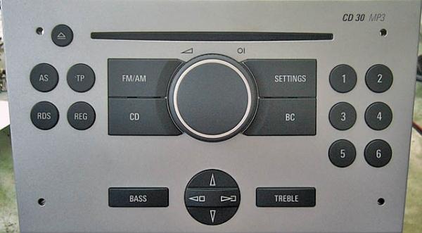 Wejście AUX Opel Jack 3,5 mm