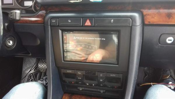 Ramka radiowa 2 DIN zestaw Audi A4 (B6/B7) 2001-2008