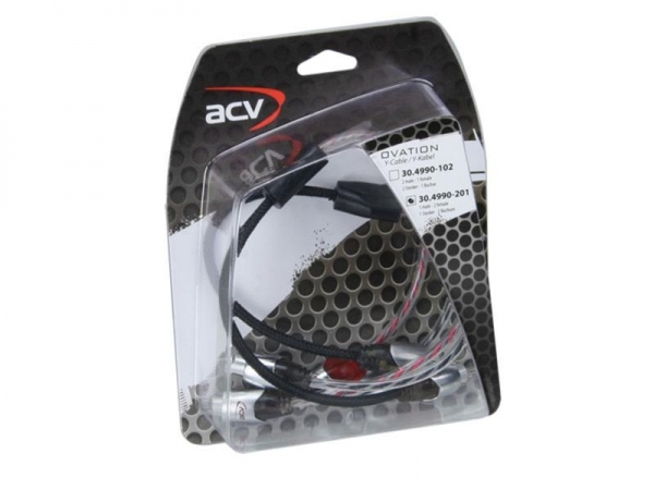 ACV OVATION rozdzielacz chinch 2x gniazdo - 4x wtyk