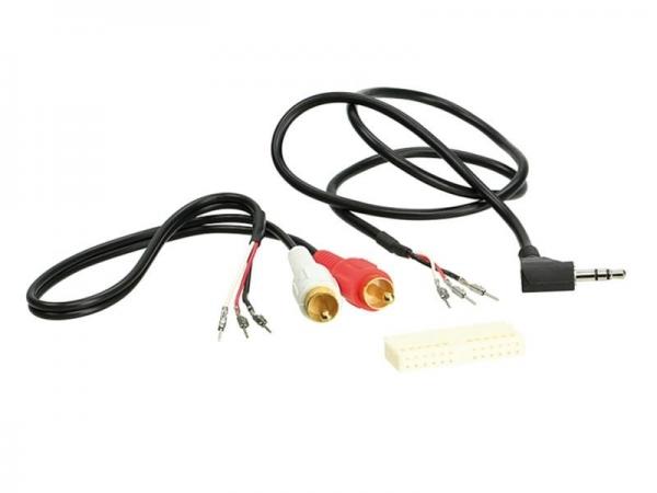 Adapter do podłączenia oryginalnego gniazda AUX BMW, Ford, Opel i VW