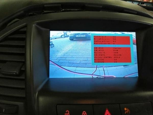 Interfejs wideo do podłączenia kamery Opel CD500, DVD600, DVD800, DVD900, CD600