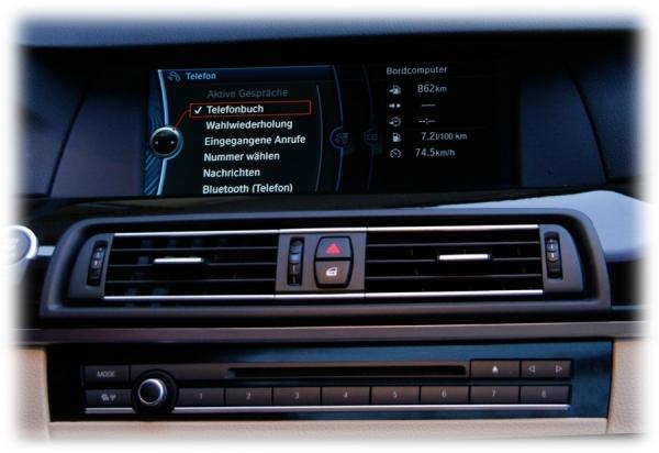Zestaw głośnomówiący Bluetooth BMW F-Series