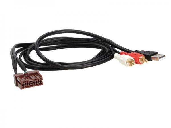 Adapter AUX/USB zamiennik Hyundai Sonata,Tuscon,Elantra