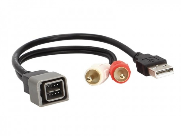 Adapter AUX/USB zamiennik Nissan Cube,NV,Versa