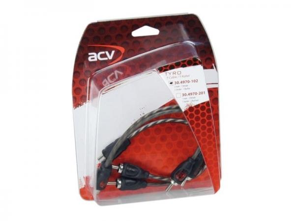 ACV TYRO rozdzielacz chinch 2x gniazdo - 4x wtyk